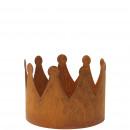 Metal crown Leo, diameter 25cm, height 18cm